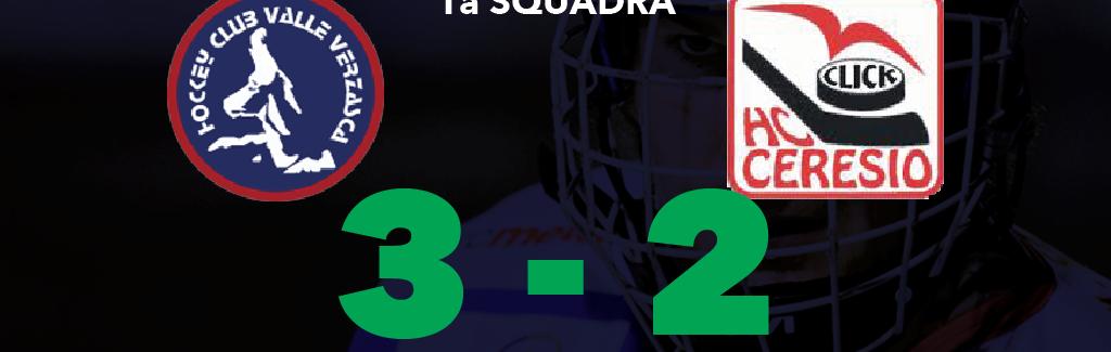 1a Squadra:  Ecco i primi 3 punti (Oh Jesus)!