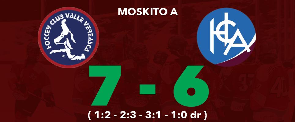 Moskito A: con Ascona son 2 punti